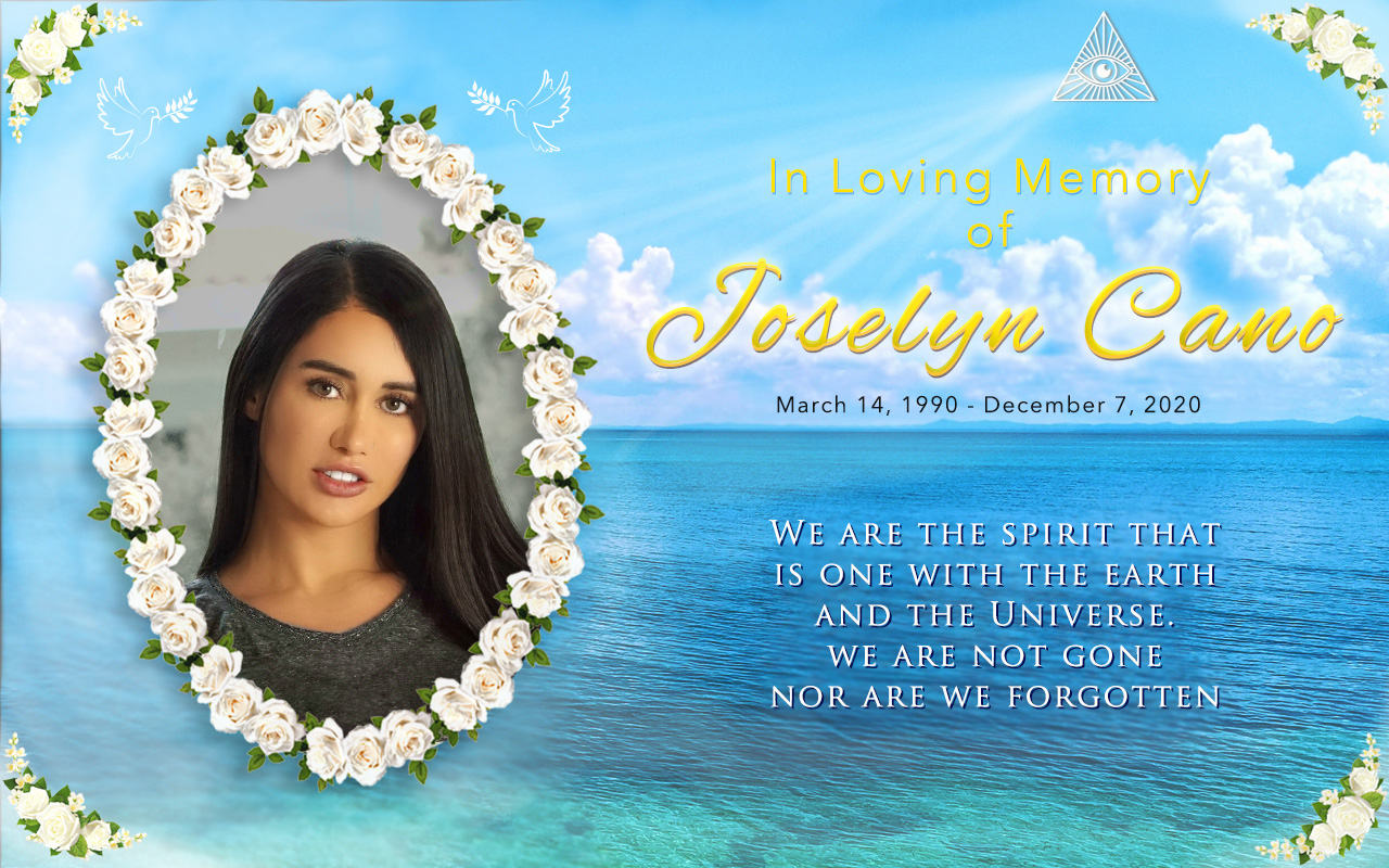 Joselyn Cano Memorial Banner